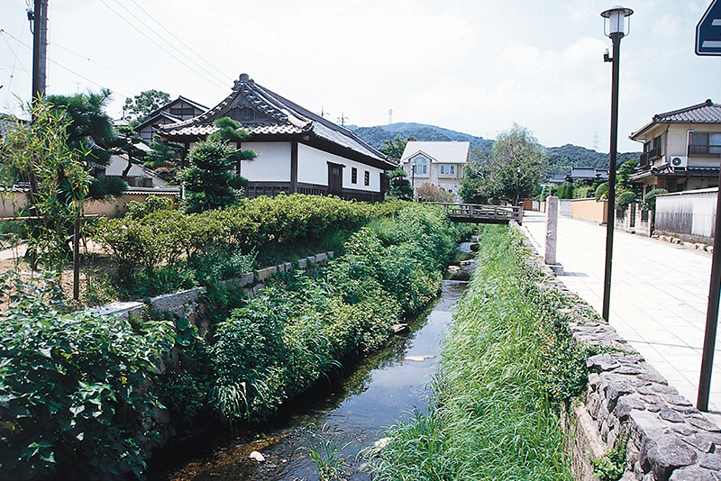 Dangu River and Chofuhanyashikinagaya